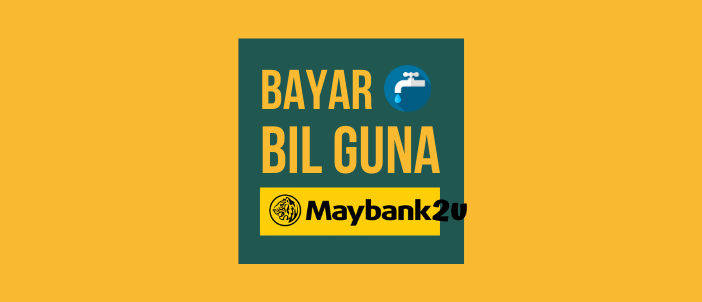 Bayar Bil Air Sabah guna Maybank2u