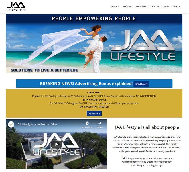 laman web jaa lifestyle