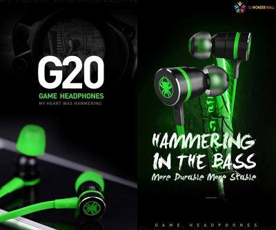 Plextone G20 Earphone aksesori handphone terbaik