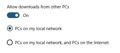 dont allow download from other pc