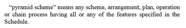 definisi skim piramid dalam undang-undang
