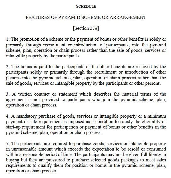 jadual definisi skim piramid