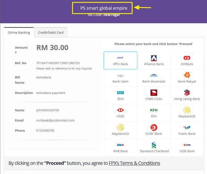 nama syarikat dekat payment gateway