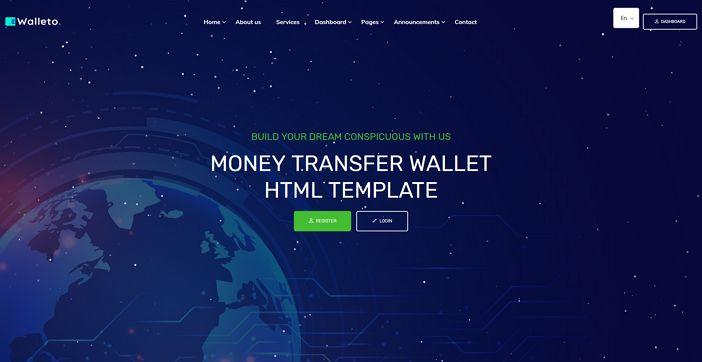 template walleto