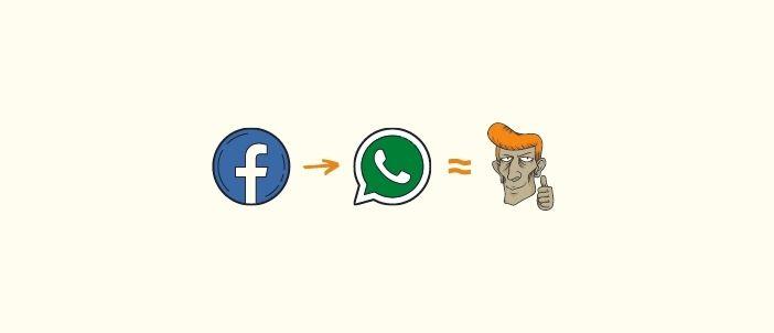Cara Buat Link WhatsApp di Facebook
