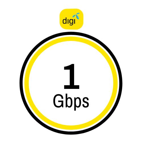Pakej internet Digi 1Gbps