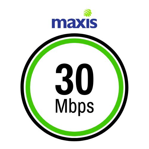 maxis 100mbps Pakej Internet Terbaik untuk Rumah