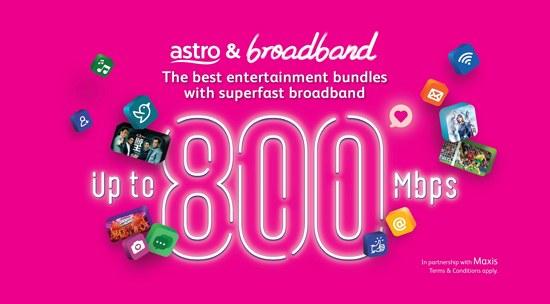 pakej astro tv dan internet untuk rumah