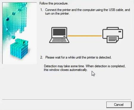 sambungkan printer e410 ke komputer bila muncul arahan