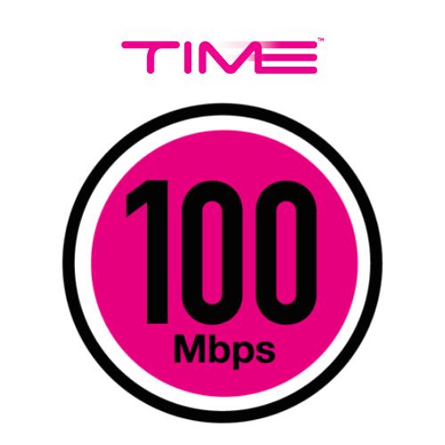 time 100mbps Pakej Internet Terbaik untuk Rumah