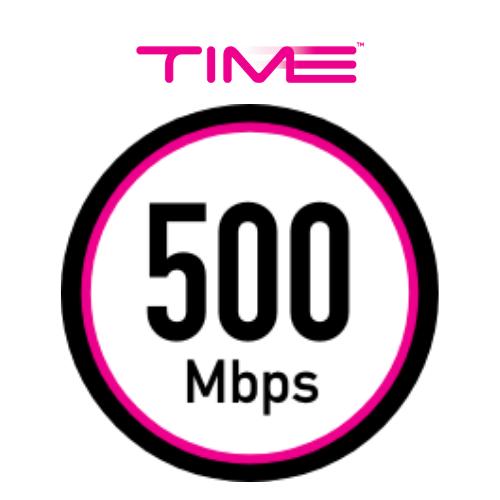 time 500mbps Pakej Internet Terbaik untuk Rumah