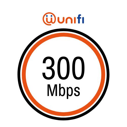 pakej internet rumah unifi 300mbps