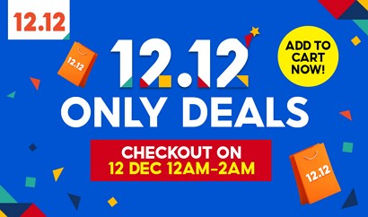 shopee 12.12 only deals