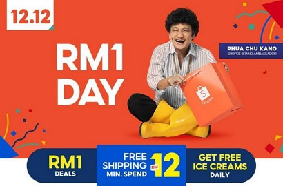 RM1 deal day di shopee 12.12
