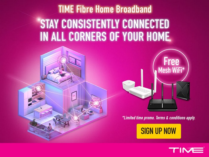 promosi TIME internet