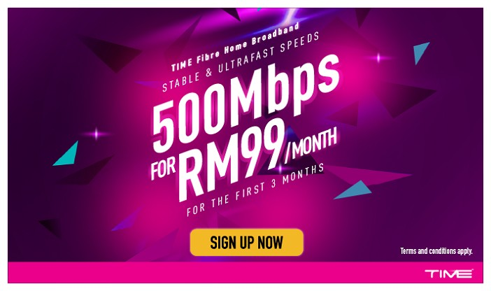 time 500mbps offer may 2021