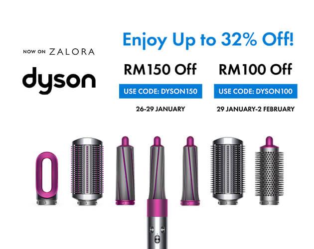 Dyson zalora campaign
