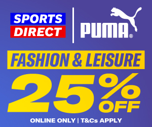 Puma Fashion Leisure 25 percent Off