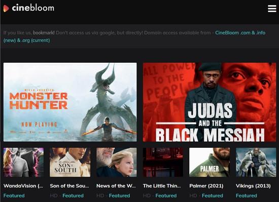 cinebloom laman movie percuma