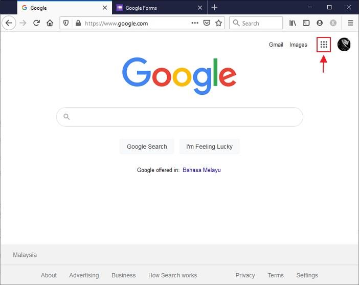 klik google apps