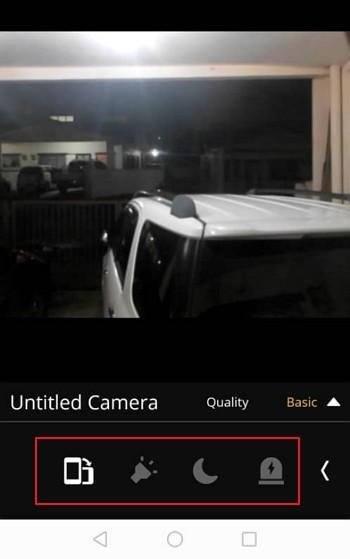 pilihan tersembunyi kamera viewer