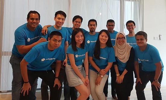 Team PolicyStreet Posing
