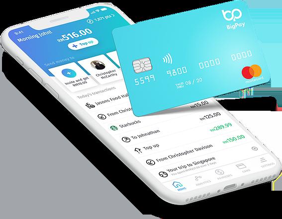 bigpay - kad, ewallet dan aplikasi