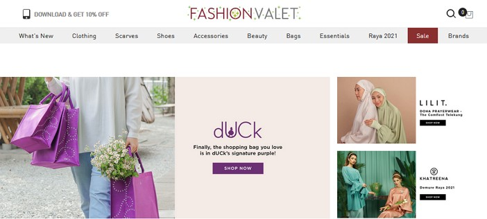 fashion valet website