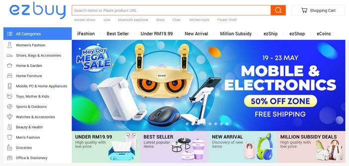 laman web online shoping ezbuy malaysia