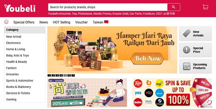 laman web online shopping youbeli malaysia