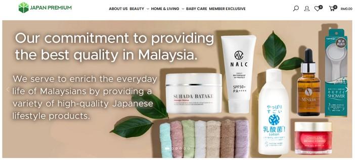 online shopping japan premium malaysia