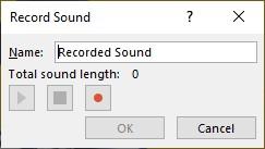 paparan pengawal record sound